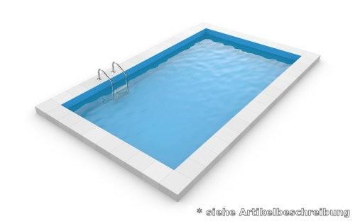 7,0 x 3,5 x 1,5 m Rechteckpool Rechteckbecken Pool