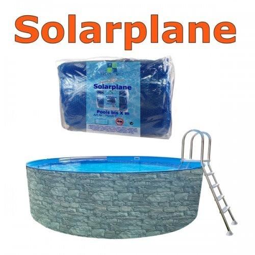 7,30 x 3,60 m Solarplane pool oval 730 x 360 cm Solarfolie