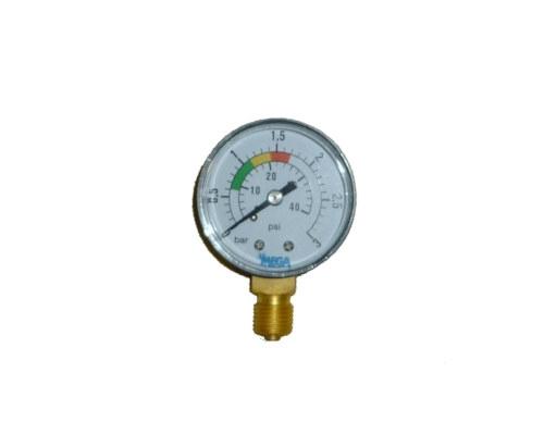 Manometer für Sandfilter 0-3 bar 1/4 Zoll Sandfilteranlage Ersatzteil