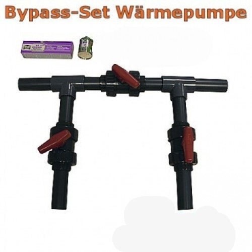 Pool Bypass Set Wärmepumpe