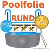 3,50 x 0,90 m x 0,6 mm Poolfolie Schwimmbadfolie 350 x 90 Pool Innenfolie