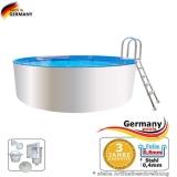 3,60 x 0,90 m Poolbecken Weiss