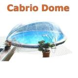 5,00 m Poolabdeckung Cabrio-Dome