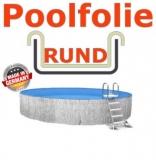 6,00 x 1,35 m x 0,8 mm Poolfolie Sandfarben Einhängebiese Sand