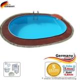 8,00 x 4,00 x 1,35 m Schwimmbecken
