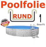 Poolfolie 400 x 135 cm x 0,8 Keilbiese Sand