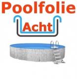 Poolfolie acht 5,25 x 3,20 x 1,50 m x 1,0 Folie Ersatz