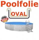 Poolfolie sandfarben 5,25 x 3,20 x 1,20 m x 0,8 Einhängebiese