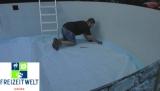 7,00 Pool Hohlkehle bis 7,30 m Rundpool