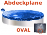 Ovalbecken Ziegel 6,1 x 3,6 x 1,20 m Komplettset
