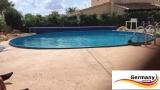4,20 x 1,25 m Stahl-Pool